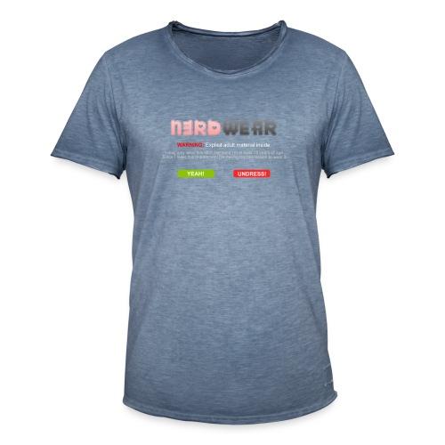 N3RD WEAR - Explicit - Männer Vintage T-Shirt