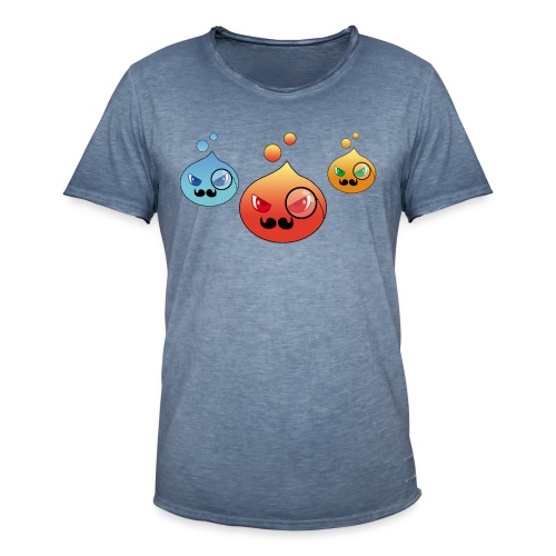 Outlezz - Gentlemen Slime - Männer Vintage T-Shirt