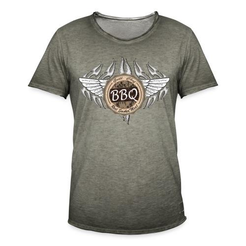 Grillmeister BBQ Chef - Männer Vintage T-Shirt