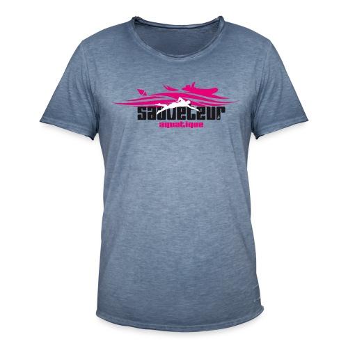 sauveteur aquatique - T-shirt vintage Homme