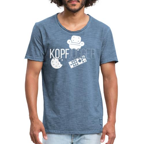 Kopfjogger - Männer Vintage T-Shirt