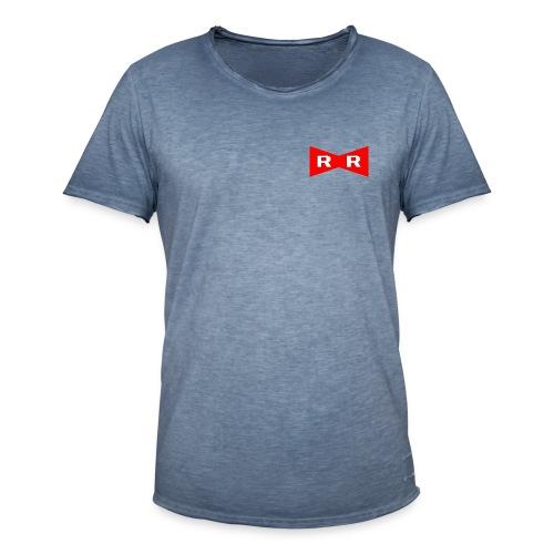Red ribbon - Men's Vintage T-Shirt