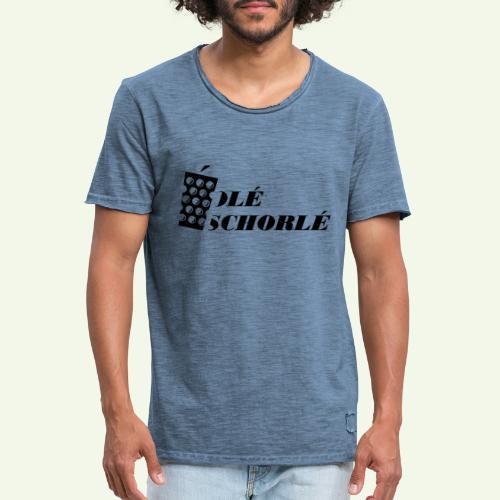 Ole Schorle - Männer Vintage T-Shirt