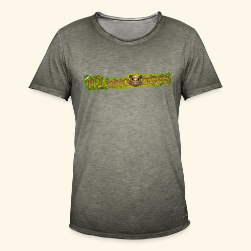 marmottes logo HD - T-shirt vintage Homme
