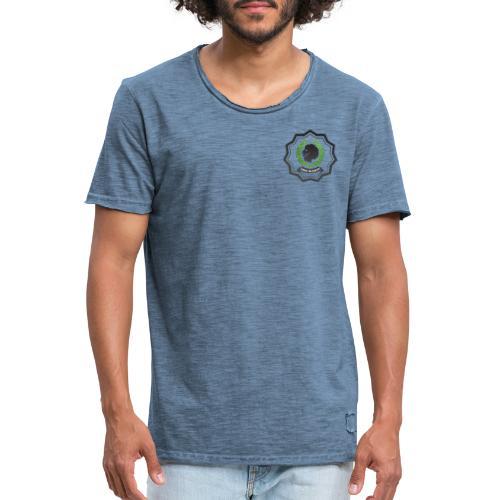 MonkeyShy football lions academy logo - T-shirt vintage Homme