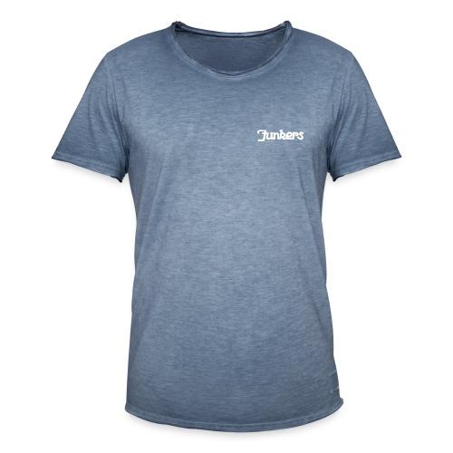 Junkers Retro Schrift weiss - Männer Vintage T-Shirt