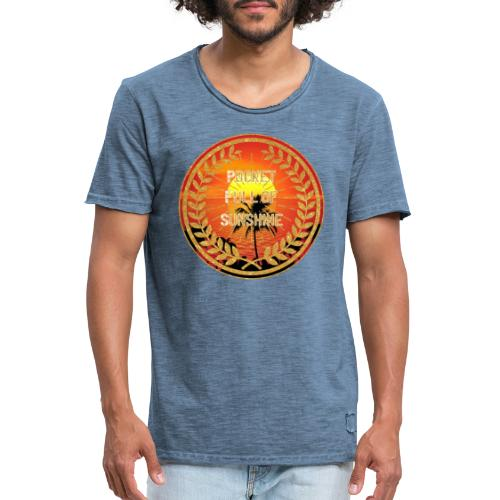 MonkeyShy pocket full of sunshine - T-shirt vintage Homme