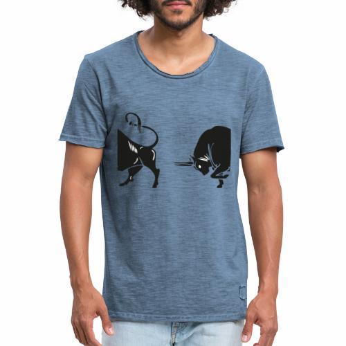 TORO - BULL - Maglietta vintage da uomo