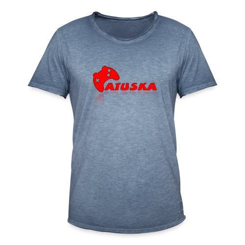 Atuska - Miesten vintage t-paita