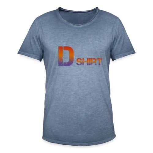 D Shirt - Männer Vintage T-Shirt