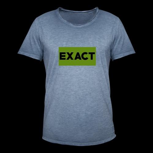 Exact Classic Green Logo - Men's Vintage T-Shirt