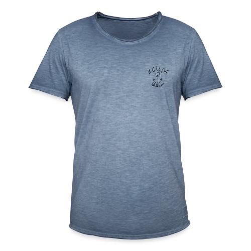 Le gravier - T-shirt vintage Homme