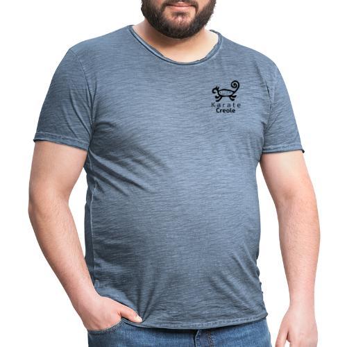 karate Creole con Letras - Camiseta vintage hombre