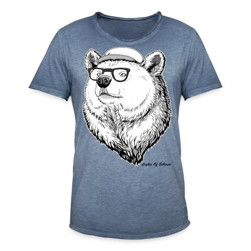 Lights Of Siberia - Men's Vintage T-Shirt