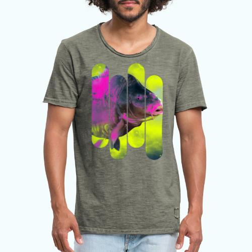 Neon colors fish - Men's Vintage T-Shirt