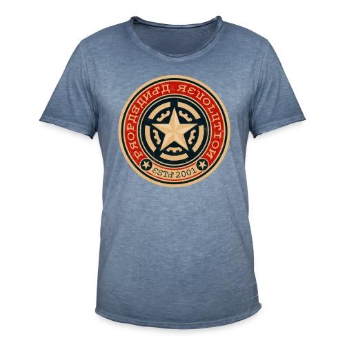 SOVIET PROPAGANDA REVOLUTION - Men's Vintage T-Shirt