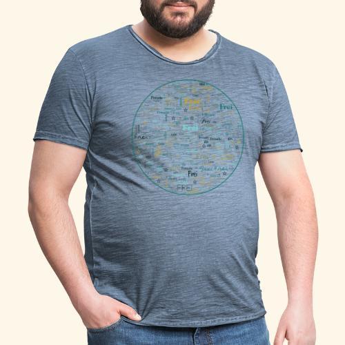 Ich bin - Männer Vintage T-Shirt