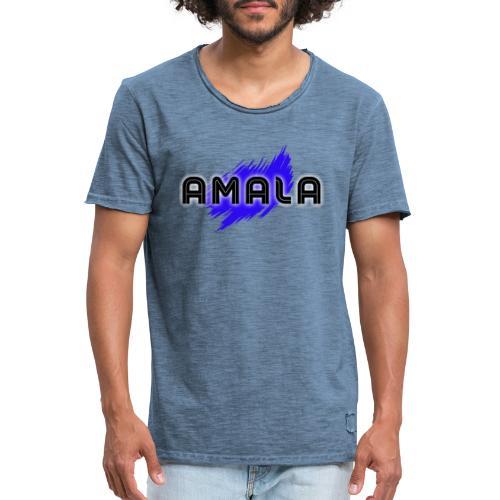 Amala, pazza inter (bianca) - Maglietta vintage da uomo