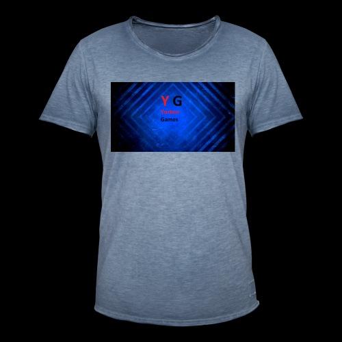 alles met de logo van yorben games - Mannen Vintage T-shirt