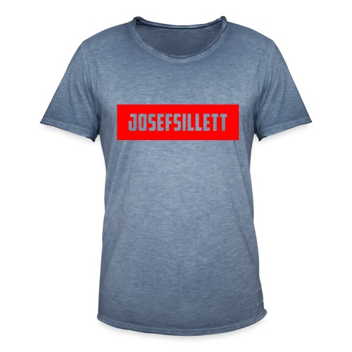Josef Sillett Red - Men's Vintage T-Shirt