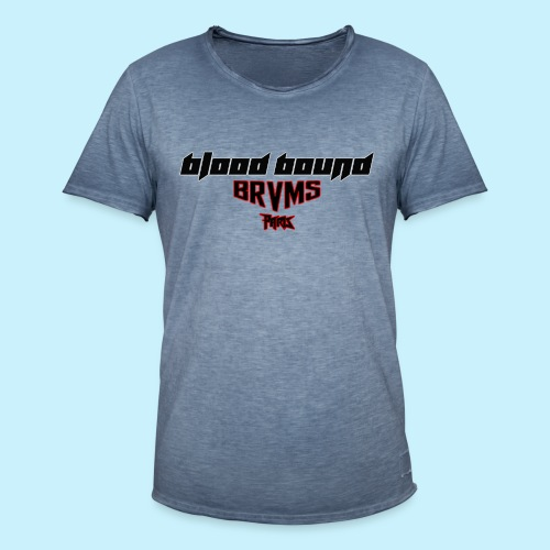 Blood Bound - BRVMS - Paris - T-shirt vintage Homme