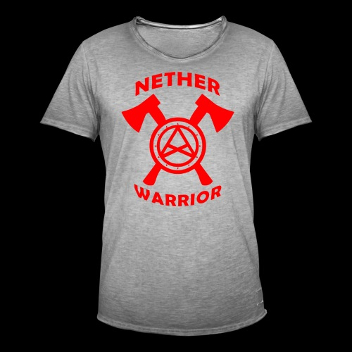 Nether Warrior T-shirt - Maglietta vintage da uomo