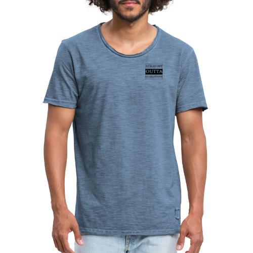 Straight Outta Quarantaine - Männer Vintage T-Shirt