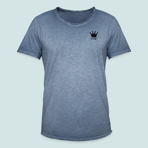 K1iNqCrown - Männer Vintage T-Shirt