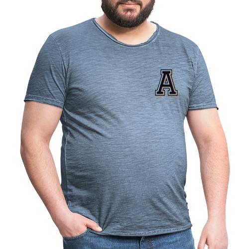 Letra - Camiseta vintage hombre
