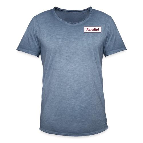 Parallel - Men's Vintage T-Shirt