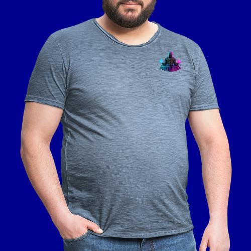 Minefred Real Logo - Männer Vintage T-Shirt