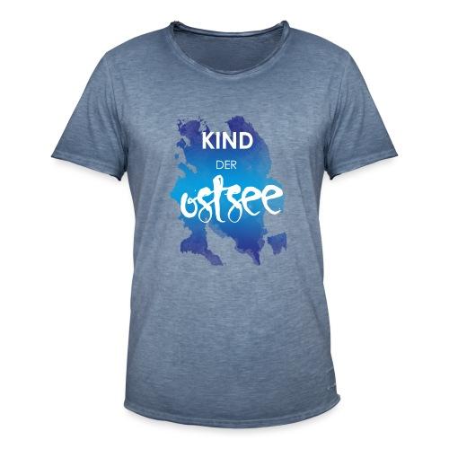 Kind der Ostsee - Männer Vintage T-Shirt