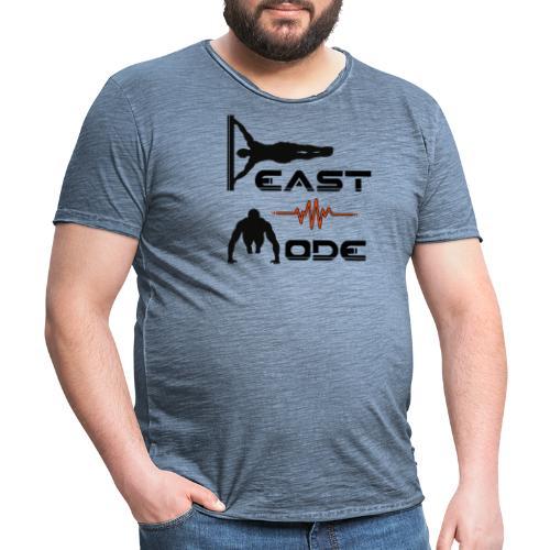 Beast Mode - Männer Vintage T-Shirt