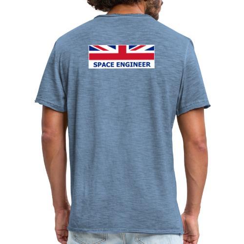 UK Space Engineer - Men's Vintage T-Shirt
