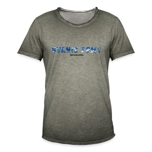 SVANIS ARMY, SWEDISHGAMING - Vintage-T-shirt herr