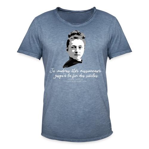 Sainte Therese patronne des missions - T-shirt vintage Homme