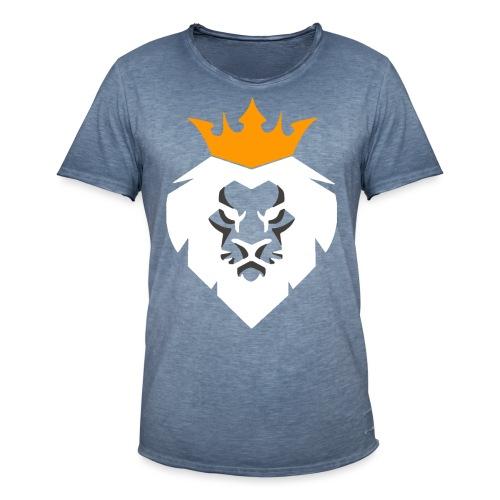 Leo - Männer Vintage T-Shirt