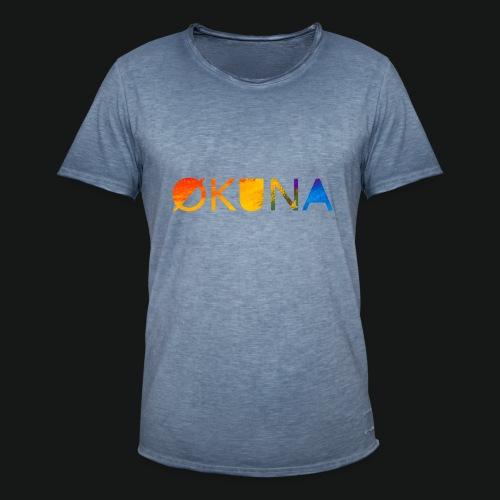 ØKUNA - classic - T-shirt vintage Homme
