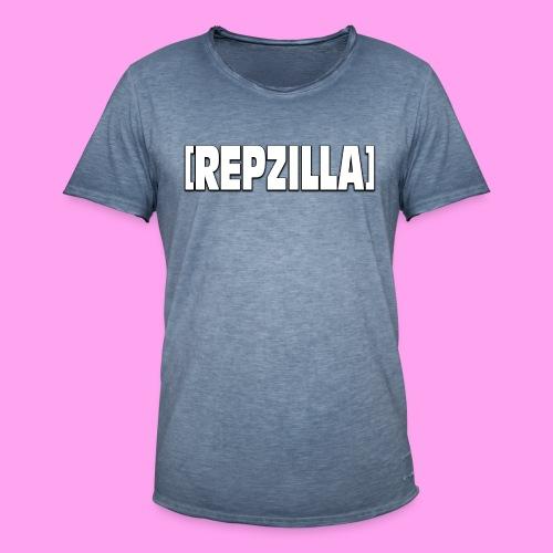 Repzilla Logo - Men's Vintage T-Shirt