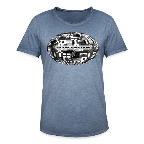 trancenation - Vintage-T-shirt herr