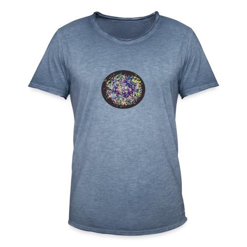 bola de color - Camiseta vintage hombre