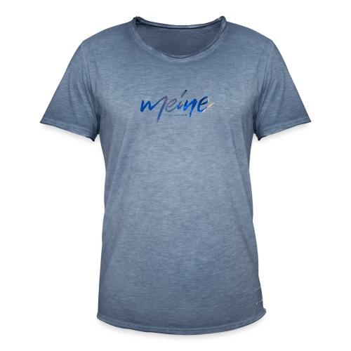 Meine Logo Blau - Männer Vintage T-Shirt