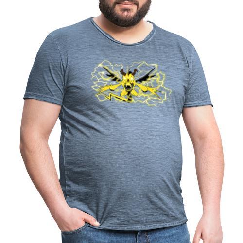 Fulgur il drago elettrizzante - Maglietta vintage da uomo