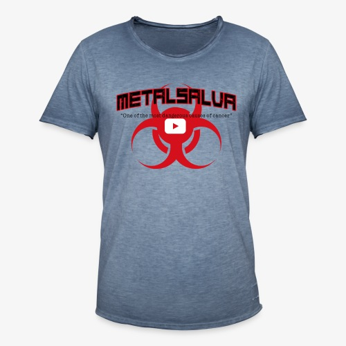 METALSALVA Cancer #1 - Maglietta vintage da uomo