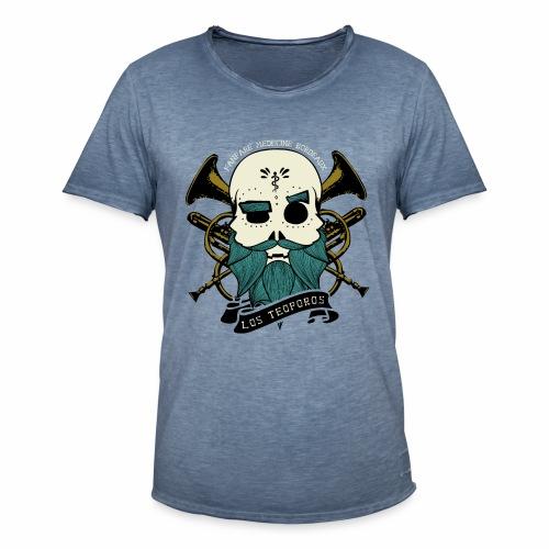 Los Teoporos Logo Pirate - T-shirt vintage Homme