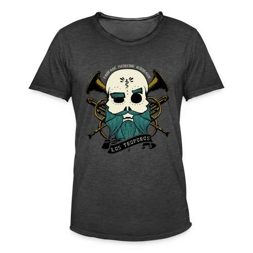 Los Teoporos Logo Pirate - T-shirt vintage Homme
