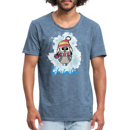 Schietwetter Design - Männer Vintage T-Shirt