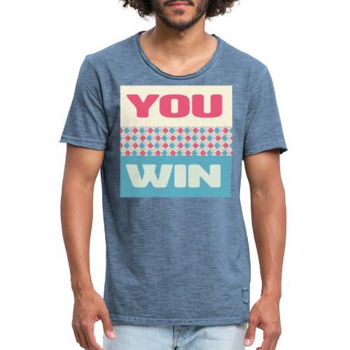 you win 8 - Men's Vintage T-Shirt