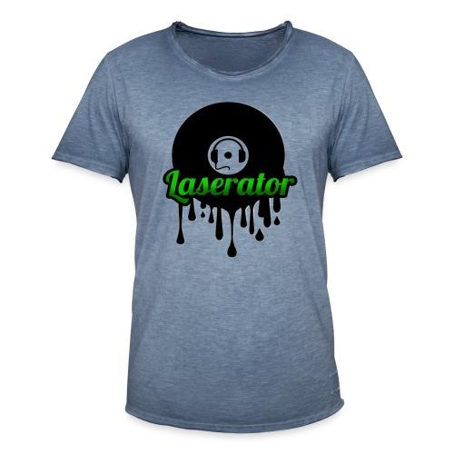 Laserator Logo - Männer Vintage T-Shirt