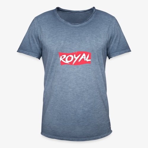 Royal Box - T-shirt vintage Homme